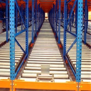 Warehouse Steel Pallet Carton Storage Gravity Flow Rack with Rollers