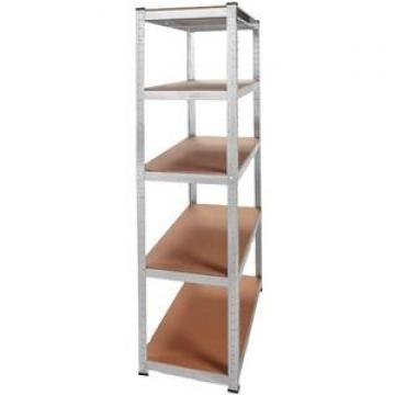 5 Tiers Durable Steel Rack Snacks Storage Shelving Unit with Castors