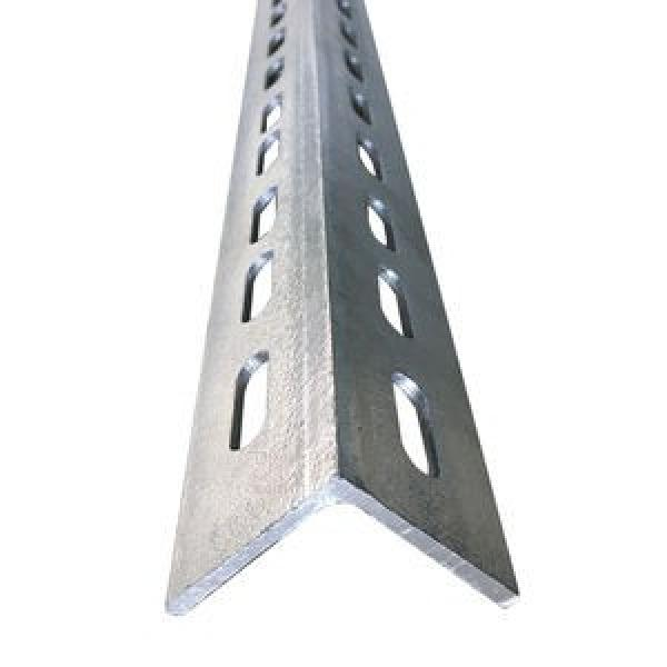 Building Materials Q235 Equivalent Angle Mild Carbon Steel Galvanized Angle Bar A36 Equal and Unequal Hot Rolled Slotted Mild Carbon Angle Steel Bar with Hole #3 image