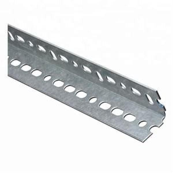 ASTM A572 Gr60 Gr50 A36 Hot Rolled Galvanized Perforated Ms Steel Angle Slotted Iron Angle Bar #2 image