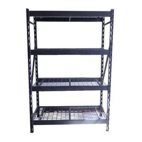 Industrial Warehouse Storage Metal Long Span Medium Duty Shelving with Plastic Bin #1 image