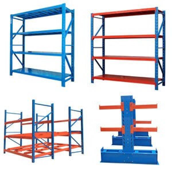 Heavy Display Adjustable Rivet Rack Supermarket/Warehouse Steel Metal Shelving #1 image