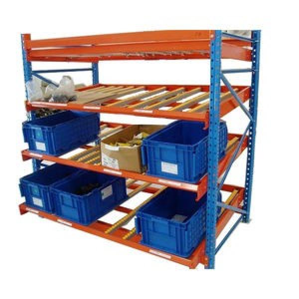 Adjustable Warehouse Heavy Duty Gravity Roller Rack #3 image