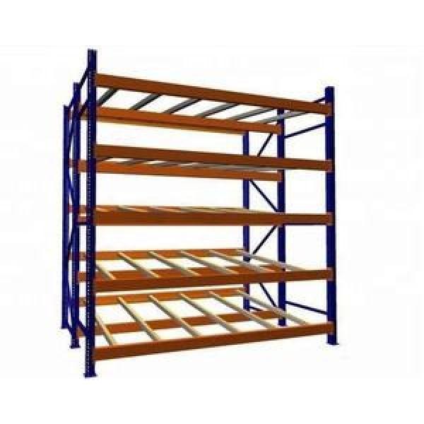 Warehouse Industrial Storage Steel Pallet Carton Gravity Flow Rollers Rack #3 image