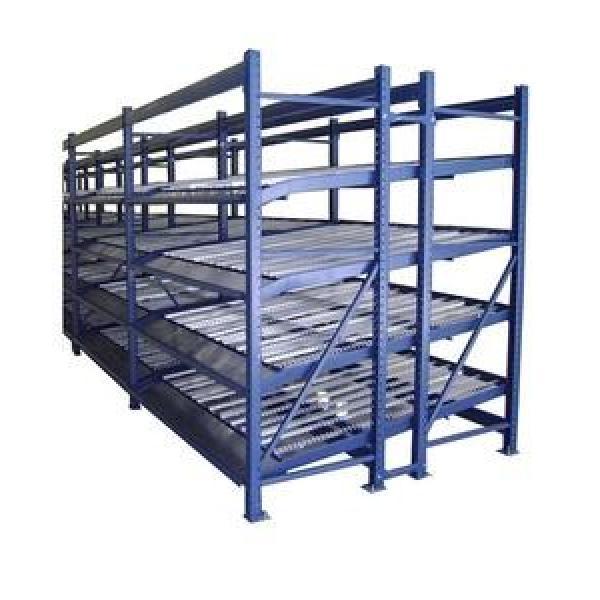 a Frame Glass Shelf Storage Rack Glass Transportation Pallet Roller Pipe Warehouse Storage Rack #3 image