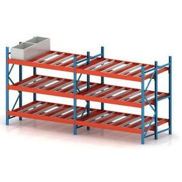 Adjustable Warehouse Heavy Duty Gravity Roller Racking #1 image