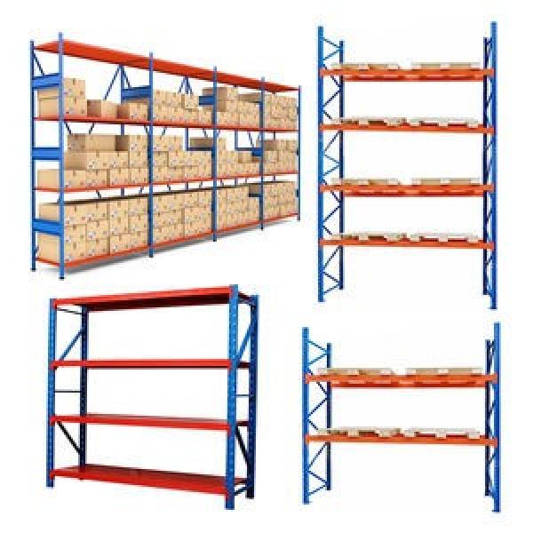 Warehouse Heavy Duty Rack Longspan Height Adjustable Steel Storage Shelving #2 image