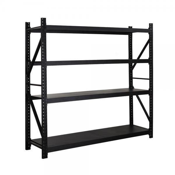 Heavy Duty Industrial Pallet Metal Storage Shelf System Stacking Steel Warehouse Rack #1 image