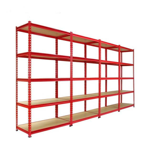 Plastic Pharmacy Storage Shelf Bin Shelving Unit Chrome #2 image