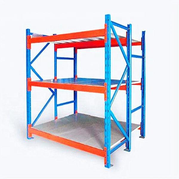 4 Layers Stainless Steel Storage Shelving Units with Casters Use in Garage Warehouse #1 image