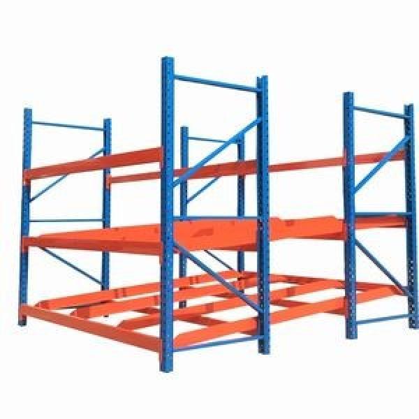 Heavy Display Adjustable Rivet Rack Supermarket/Warehouse Steel Metal Shelving #2 image