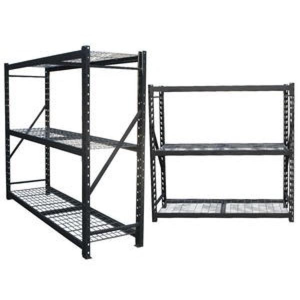 "6-Tier Storage Movable Commercial Chrome Wire Rack Shelf Unit 24""X36""X72"" #3 image"