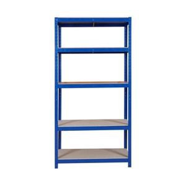 Black Wire Shelving Unit Height Adjustable Commercial Grade with Wheels for Food Sales #2 image
