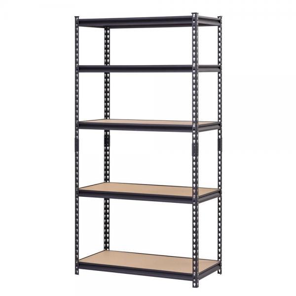 Plastic Pharmacy Storage Shelf Bin Shelving Unit Chrome #1 image