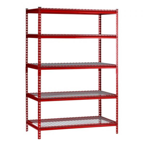 Marketing Metal Free Standing Wire Grid Wall Display Nail Polish Shelf Rack Stand Unit #1 image