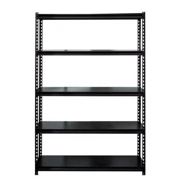Storage Unit with Shelves Small Metal Shelf Unit #2 image