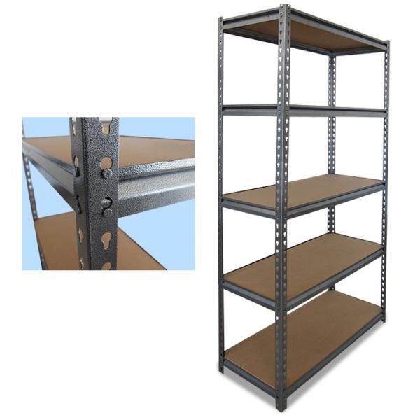 Marketing Metal Free Standing Wire Grid Wall Display Nail Polish Shelf Rack Stand Unit #2 image