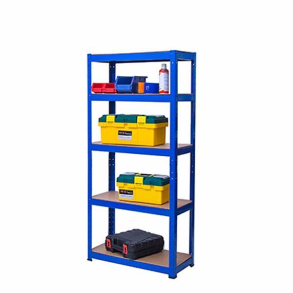 Galvanized Metal Storage Shelving Unit (9040-175) #2 image