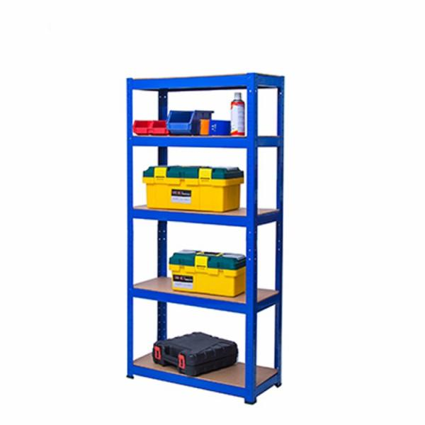 Storage Unit with Shelves Small Metal Shelf Unit #1 image