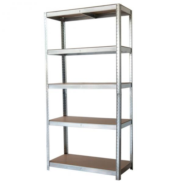 Storage Unit with Shelves Small Metal Shelf Unit #3 image