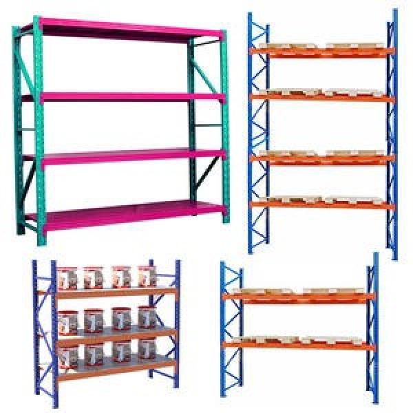 a Frame Glass Shelf Storage Rack Glass Transportation Pallet Roller Pipe Warehouse Storage Rack #2 image
