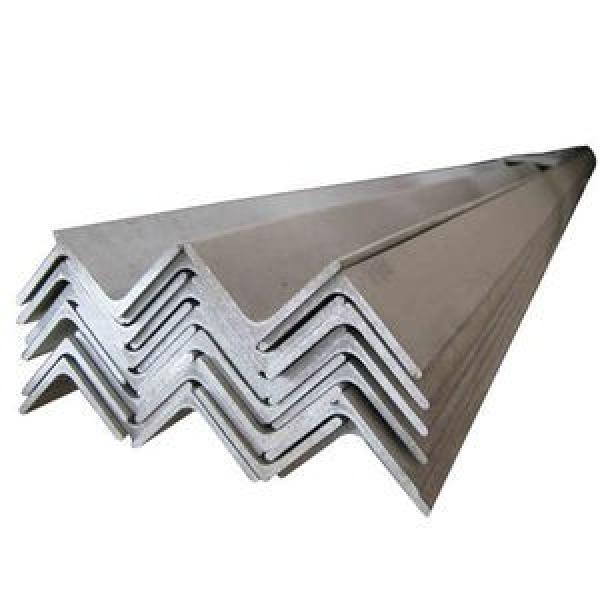 3mm Thick 200mm Dimension Slotted 420j2 Grade Stainless Steel 45 Degree Angle Iron #2 image