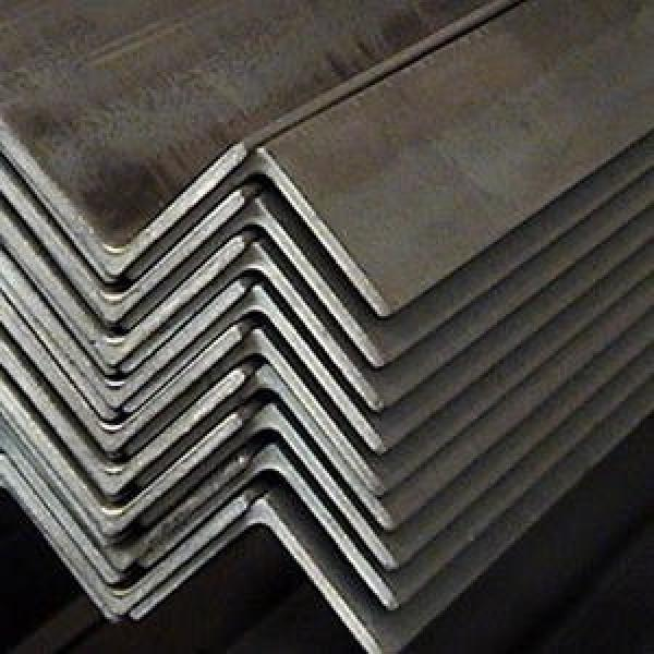 3mm Thick 200mm Dimension Slotted 420j2 Grade Stainless Steel 45 Degree Angle Iron #3 image