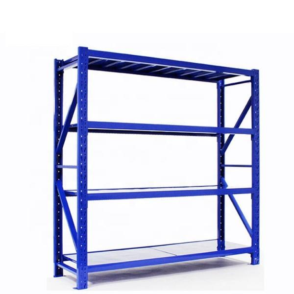 Warehouse Storage Heavy Duty Galvanized Metal Shelf Steel Pallet Racking #2 image