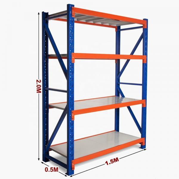 Heavy Duty Warehouse Storage Industrial Shelf Rack Metal Shelving #2 image