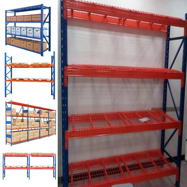 5 Tier Silver Rolling Storage Rack Wire Shelving Unit Kitchen Shelf #1 image