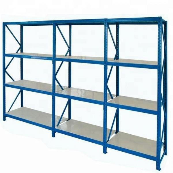 DIY Metal Closet Storage Organizer Garment Rack Heavy Duty Clothes Wardrobe Rolling Clothes Rack with Hanger Bar #3 image