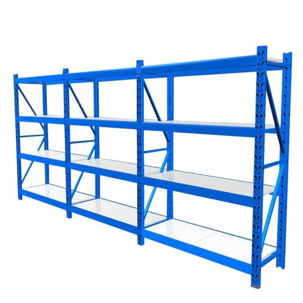 Portable 5 Tiers Heavy Duty Wire Rack Rolling Adjustable Steel Garage Storage Shelves #3 image