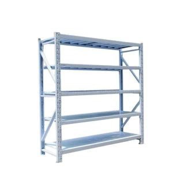 800-1200 Steel Reinforced Plastic Pallet Rolling Storage Cart Organizer Heavy Duty Rack Warehouse for Factory #3 image