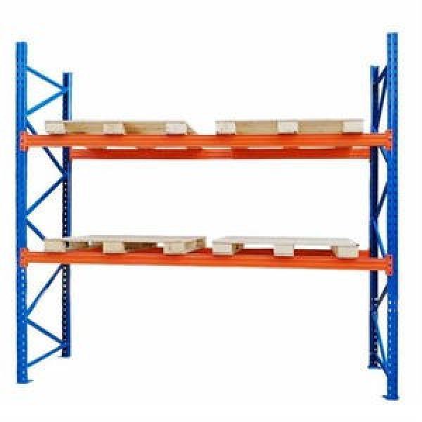 Galvanized Steel Wire Rolling Container Storage Cage, Warehouse Pallet Storage Rack #3 image