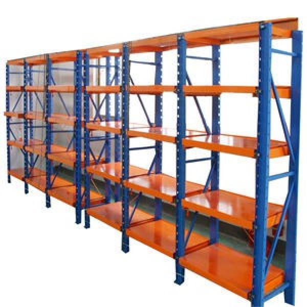 Durable Industrial Metal Steel Wire Shelving, Garage Warehouse Storage Rack Shelving with Wheel #1 image