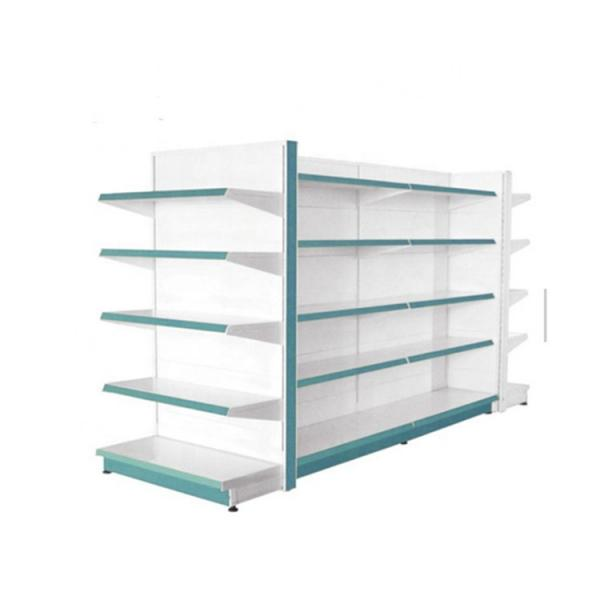 Strengthened Heavy Duty Chrome Display Shelving Unit for Supermarket #1 image