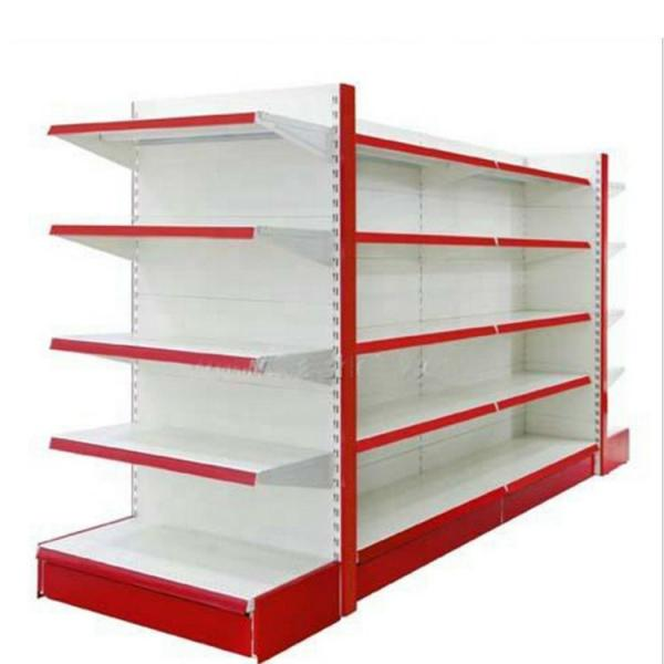 Strengthened Heavy Duty Chrome Display Shelving Unit for Supermarket #2 image