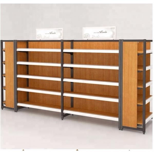 Strengthened Heavy Duty Chrome Display Shelving Unit for Supermarket #3 image