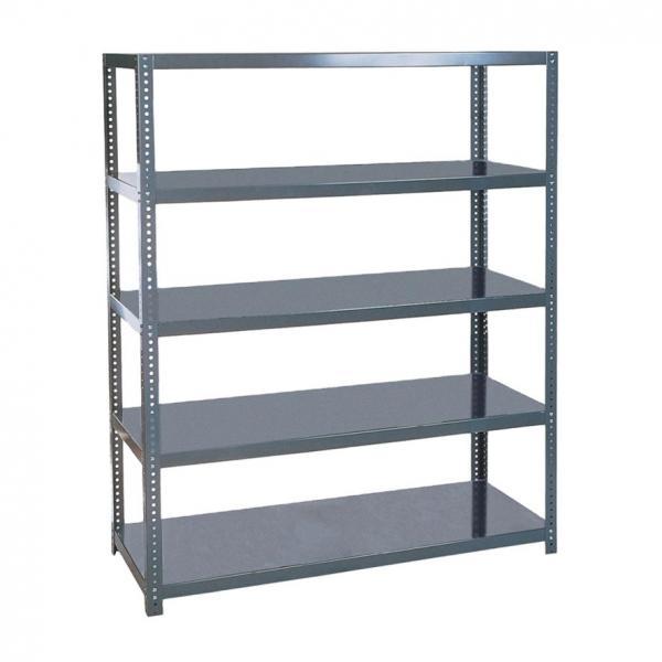 Industrial Metal Ladder Book Shelf Wooden for Living Room #2 image
