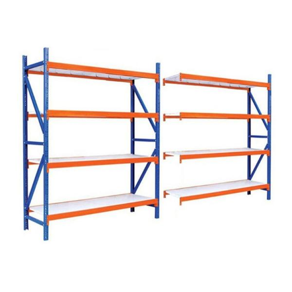 Used Industrial Rivet Shelving Warehouse Shelving Boltless Shelving Wood Shelf Ebay #1 image