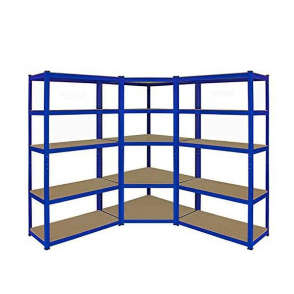 Used Industrial Rivet Shelving Warehouse Shelving Boltless Shelving Wood Shelf Ebay #3 image