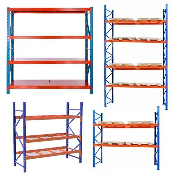Used Industrial Rivet Shelving Warehouse Shelving Boltless Shelving Wood Shelf Ebay #2 image