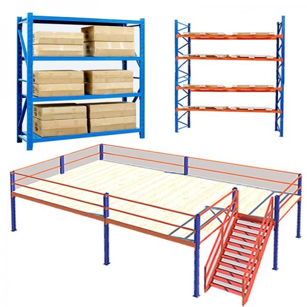5 Tiers Durable Steel Rack Snacks Storage Shelving Unit with Castors #1 image