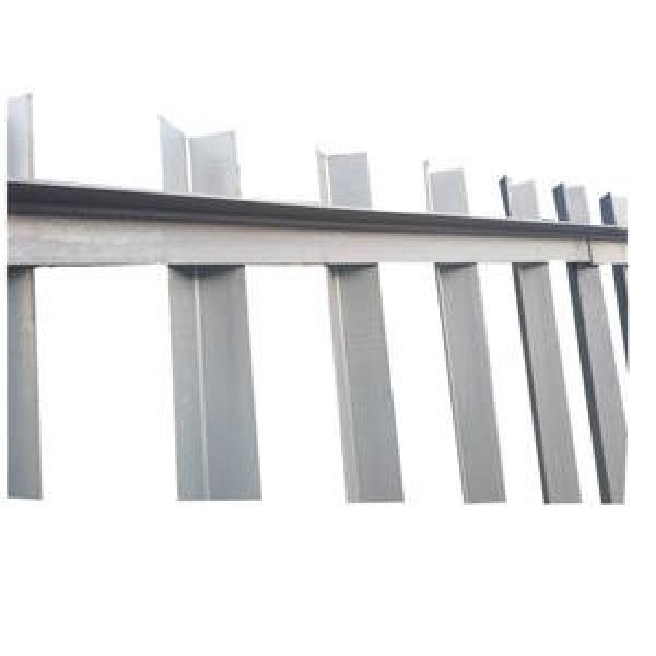 Galvanized Perforated ASTM A572 Gr50 Gr60 A36 BS En S355jr S355j0 Slotted Angle Iron #1 image