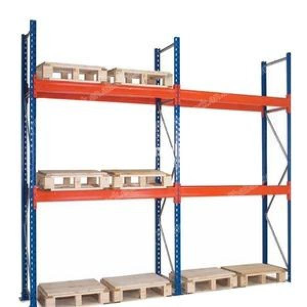 Professional Customized Steel Warehouse Mezzanine Racking System Industrial Shelving Units #3 image